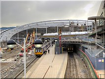 SJ8499 : Manchester Victoria Station, September 2014 by David Dixon