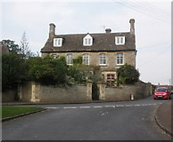 ST8080 : Stonelea House, Acton Turville by Roger Cornfoot