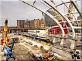 SJ8498 : Construction Site at Manchester Victoria Station (Sept 2014) by David Dixon