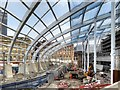 SJ8498 : Manchester Victoria Station Redevelopment, New Roof by David Dixon