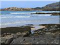 NR4098 : Tràigh Bàn and Eilean Easdail by Oliver Dixon