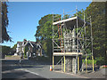 SD4097 : Refurbishment work, Baddeley Memorial clock tower, Windermere by Karl and Ali