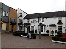 SJ2929 : The Red Lion in Oswestry by Jaggery