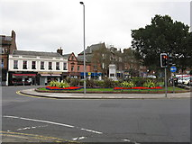 NS3321 : Ayr - Burns Statue Square by Peter Whatley