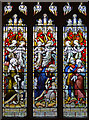 ST7282 : Stained glass window, St John's church, Chipping Sodbury by Julian P Guffogg