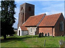 TL9919 : St Andrew's church, Abberton by Bikeboy