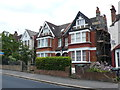 TQ2890 : Houses in Alexandra Park Rd by Nigel Mykura