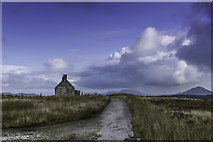 NC5160 : Moine House and the Old road over the Moine by Peter Moore