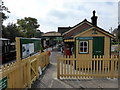 TQ4517 : Isfield Station Entrance by PAUL FARMER