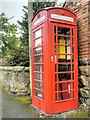 SK3528 : Old Red GPO Telephone Kiosk, Barrow Upon Trent by David Dixon