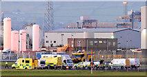 J3675 : Rescue exercise, Belfast City Airport - September 2014(2) by Albert Bridge