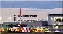 J3675 : Rescue exercise, Belfast City Airport - September 2014(3) by Albert Bridge