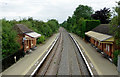 SP1658 : Wilmcote Station in Warwickshire by Roger  Kidd