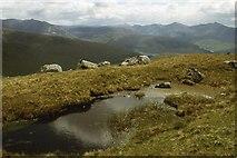 NN0343 : The ridge of Creag na Cathaig by Alan Reid