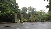NT7853 : Entrance to Duns Public Park by Graham Robson