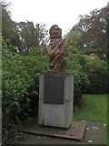 NT7853 : John Duns Scotus bust, Duns by Graham Robson