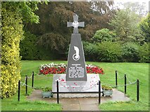 NT7853 : Memorial to Polish soldiers, Duns by Graham Robson