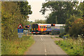 SK8157 : Winthorpe level crossing by Richard Croft