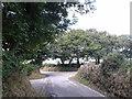 SW9664 : Lane junction near St Wenn by Rob Purvis