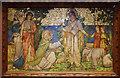 TQ4077 : St John the Evangelist, Stratheden Road, Blackheath - Reredos by John Salmon