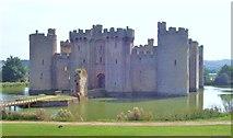 TQ7825 : Bodiam Castle by Len Williams