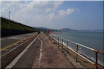 SH8678 : The Promenade, Colwyn Bay by Ian S