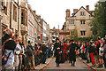 TL4458 : The ceremonial visit of Queen Elizabeth I to Cambridge by Hugh Chevallier
