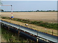 TF1110 : Sand and gravel conveyor next to Greatford Cut by Richard Humphrey