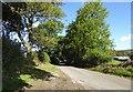 SK2282 : Bench on Cogger's Lane heading towards Stanage Moor by Steve  Fareham