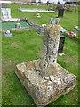 TF0836 : Stone cross base by Bob Harvey