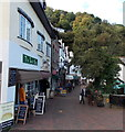 SS7249 : Eastern end of Lynmouth Street, Lynmouth by Jaggery