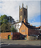SK3536 : Derby Cathedral tower by John Sutton