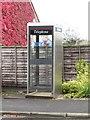 NT7652 : Public telephone box, Gavinton by Graham Robson