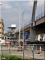 SK5438 : Viaduct at the QMC by Alan Murray-Rust