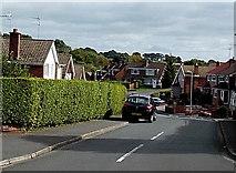 ST3091 : Western end of Robertson Way, Malpas, Newport by Jaggery