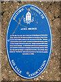 Photo of Alma Bridge, Sidmouth blue plaque
