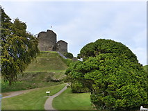 SX3384 : Launceston Castle by Ruth Sharville