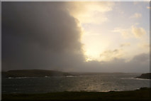 HP5605 : Stormy evening, Lunda Wick by Mike Pennington