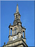 NZ2564 : All Saints Church, Pilgrim Street - top of spire by Mike Quinn