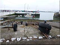 W7966 : Pier at West Beach, Cobh by Kenneth  Allen