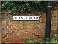 TM3389 : Outney Road sign by Adrian Cable