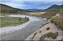 NN8596 : River Feshie south of Achleum by Jim Barton