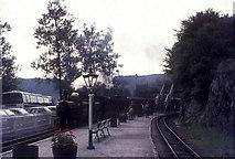 SH6441 : Gorsaf Tan-y-Bwlch station by FCG