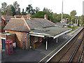 SU9163 : Bagshot station ticket hall by Alan Hunt