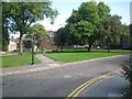 SO9490 : Open space between High Street and The Inhedge, Dudley by Robin Stott