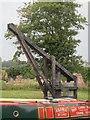 SU2263 : Wooden wharf crane at Burbage Wharf by Ian Murfitt