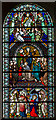 SK7053 : Stained glass window, Southwell Minster by J.Hannan-Briggs