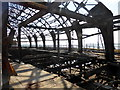 TV6198 : Fire Damage at Eastbourne Pier by PAUL FARMER