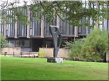 "SP5206 : Barbara Hepworth sculpture ""Achaean"", St Catherine's College Oxford by David Hawgood"