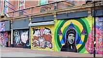 J3374 : Lower Garfield Street, Belfast (September 2014) by Albert Bridge